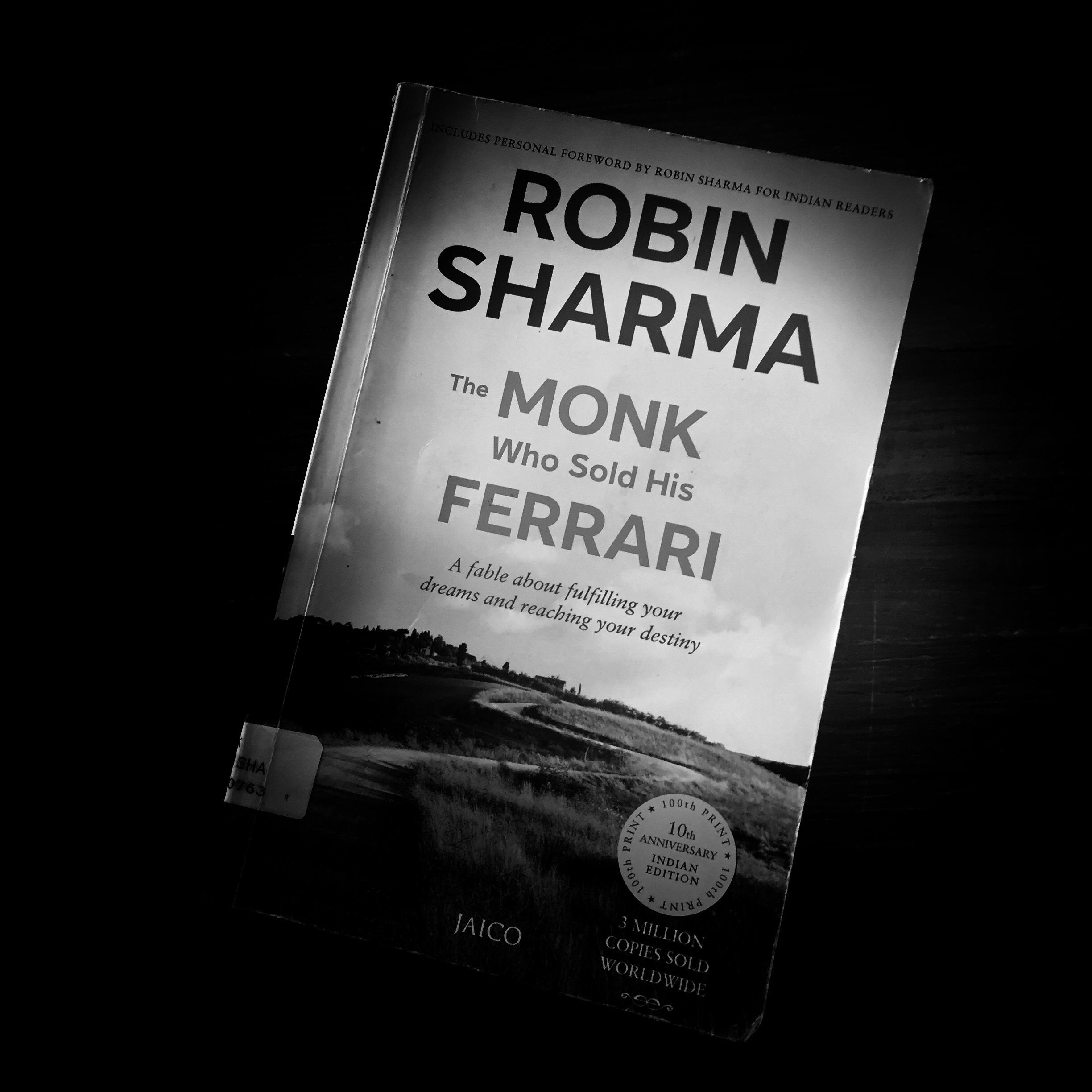 The Monk Who Sold His Ferrari Book Review Candid Can Blog